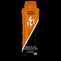 Lightning Endurance Energy Gel Squeezed Fruit Juice - Orange - 1 x 60 ml