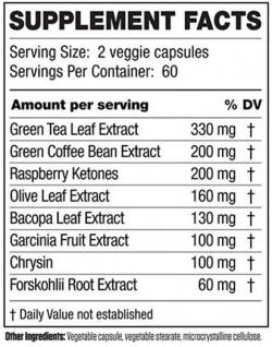 INVIGOR8 Fat Burner - 120 capsules