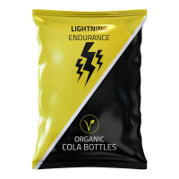 Lightning Endurance Cola Bottles - 16 x 70 grams