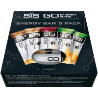 SIS GO Energy Bar Variety Pack - 5 x 40g