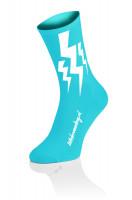 Lightning Socks Cyan