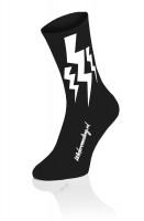 Lightning Socks Black