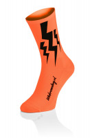 Lightning Socks Orange